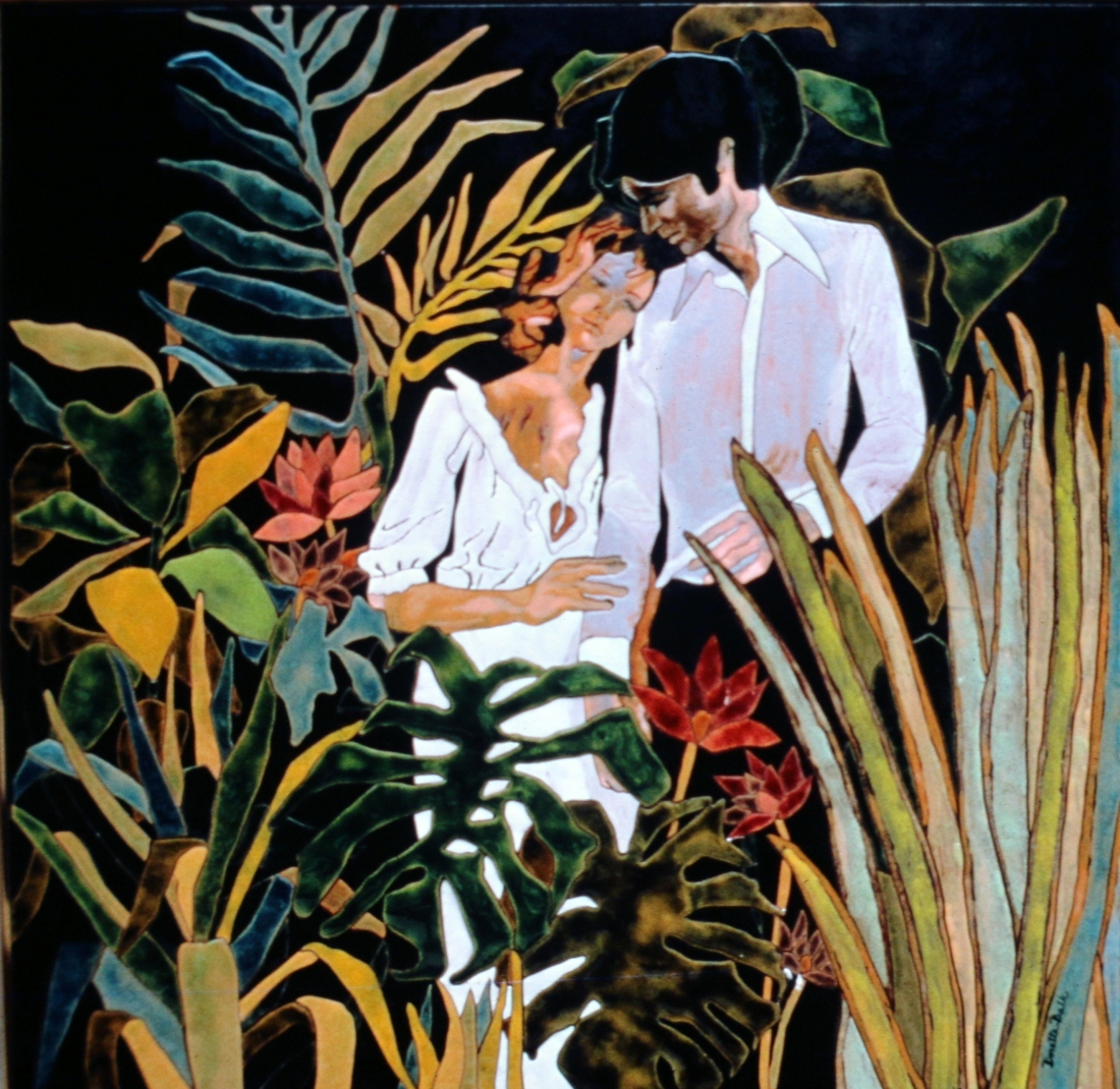 couple in jungle