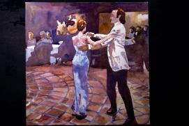 dancing on tile - 1